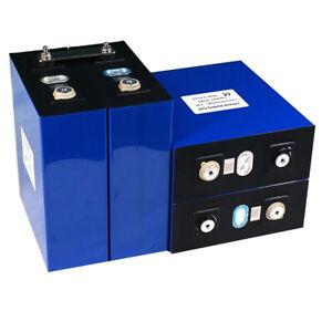 4PCS NEW 3.2V 120Ah lifepo4 battery solar