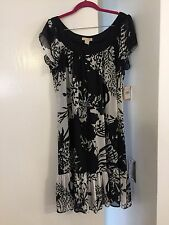 Jonathan Martin Black And White Dress Women's Size 16