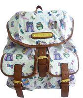 LYDC Anna Smith Backpack Rucksack Designer Vintage Retro Style Owl Shoulder Bag