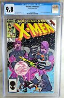 Uncanny X-Men #202 Marvel 1986 CGC 9.8 NM/MT White Pages Comic Q0156