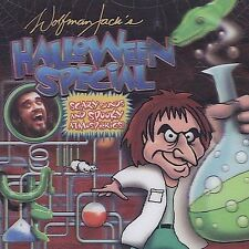 Wolfman Jack's Halloween Special CD Scary Sounds Spooky Creepy Rare Music