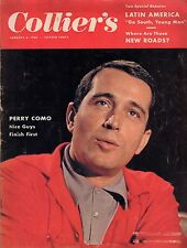 1956 Colliers January 6 - Last word on Adolph Hitler; Perry Como;Hot Rod Hundley