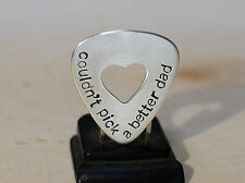 Sterling silver couldnt pick a better dad guitar pick