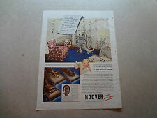 """1940 Hoover Vacuum Vintage Magazine Ad """"Doesn't your common sense..."""""""