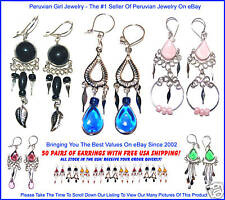 Peru Jewelry Wholesale 50 Earrings Peruvian Wholesale