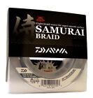DAIWA SAMURAI BRAIDED FISHING LINE 300 YARDS GREEN select lb tests