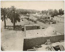 Photograph Market Bazaar Grande Epicerie du Sahara c1900 Middle East