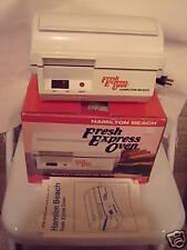 Hamilton Beach Fresh Express Oven Good In Box