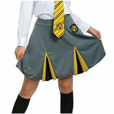 Wizarding World Harry Potter Hufflepuff Costume Skirt Adult Womens SM-XL