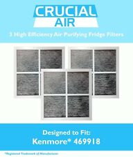 3 Kenmore Elite 9918 Air Purifying Fridge Filters, Part # 469918 & 04609918000