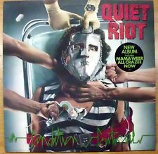 QUIET RIOT CONDITION CRITICAL MAMA WEER ALL CRAZEE NOW LP 1984 MINT