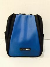 Nintendo Game Travel Bag Backpack Carry Case DS, 3DS Black & Blue  - Accessories