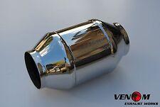 "3"" VENOM High Flow Metal Cat WRX XR6 Turbo Skyline VL FPV F6 GTR S15 S14 SUPRA"