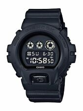 Casio G-SHOCK DW6900BB-1 Black Out Series Matte Resin Digital Men's Watch