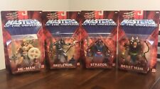Masters of the Universe 200x lot - He-Man, Skeletor, Stratos, & Beast Man