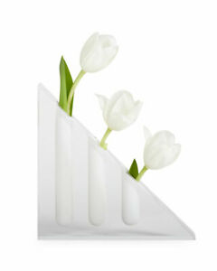 Jonathan Adler Bel Air Acrylic Wedge Vase  new in box
