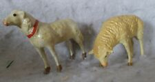 New ListingVintage Composition German Nativity Sheep