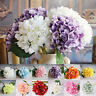 Hydrangea Silk Artificial Flower Fake Blossom Bunch Bouquet Wedding Bride Decor~