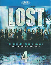 LOST Season 4 Blu-ray, REGION A, Tons of BONUS Features, 5 Disc NEW & SEALED