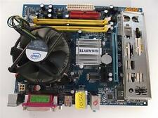 Gigabyte Ga-g31m-s2l Socket 775 Motherboard Con Intel Quad 6600 2,40 ghz Cpu