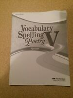Vocabulary Spelling Poetry V A Beka Book Student Quizzes Homeschool 11th Grade