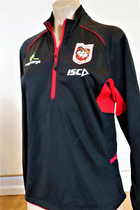 ST GEORGE DRAGONS 2017 ELITE TRAINING TOP     LADIES SIZE 10  New with tags