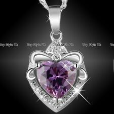BLACK FRIDAY SALES Purple Heart Necklace for Mum Women Xmas Gifts for Her F1