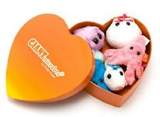 GIANTmicrobes Plush HEART GIFT BOX of 5 Mini Microbes, Heart Warming ~NEW~