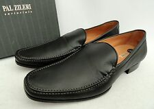 Pal Zileri SARTORIALE Black Leather Loafers Shoes UK9 EU43 US10