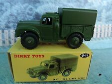 1/43 Dinky No.641 Army 1-ton Cargo Truck