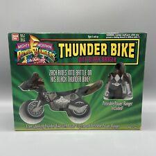 1994 Bandai Mighty Morphin Power Rangers Thunder Bike With Black Ranger 2234 NIB