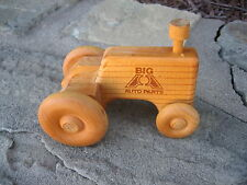 New Wooden Toy Farm Tractor - Big A Auto Parts - 5 inches