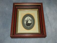 Antique Picture Frame & Photo,Mary Longstreet Holmes, Monmouth County, NJ