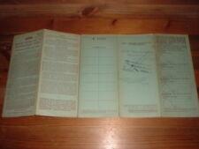 1965 AUSTIN A35 VAN  BUFF BOOK, RF60,MEMORABILIA,NOT CANCELLED