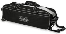 Storm Tournament 3 Ball Travel Tote Bowling Bag Black