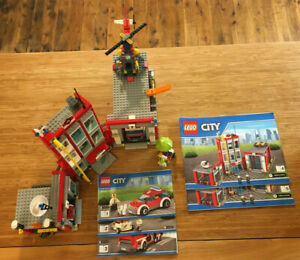 Lego City Town Set 60110 Fire Station (2016).