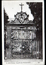 SENS (89) GRILLE en Fer Forgé de l'ARCHEVECHE en 1911 / Editeur ROSE