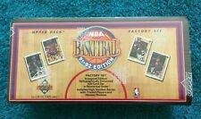1991-92 Upper Deck Factory Set - Complete Series - NBA - JORDAN !!!