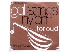 GALLI Nylon Arabic Oud Strings 2 Plain 4 Wound