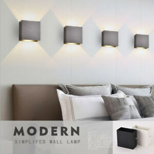 Modern LED Wall Lights 6W 12W LED Wall Sconce Up and Down Lamp For Home Garden K