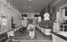 c1910 RPPC Fair Department Store, Shoe & Hosiery Dept, Fairfield IA Iowa