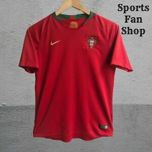 Boys Portugal 2018/2019 home Size L shirt jersey Nike soccer football KIDS youth