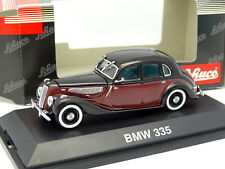 Schuco 1/43 - BMW 335 Bordeaux / Noire