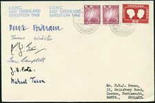 ARCTIC POLAR MOUNTAINEERING 1968 LGMC EAST GREENLAND EXPEDITION MULTI SIGNED