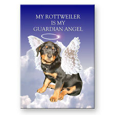 ROTTWEILER Guardian Angel FRIDGE MAGNET New DOG Rottie