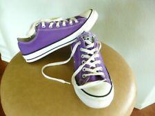 mens / womens .Converse All Star sneakers sz. 8 ,  womens sz 10 Purple