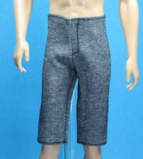 Barbie Light Black Denim  Sport Shorts Fashionistas Basic Model Ken REGULAR SLIM