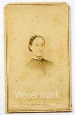 CDV Photo of lady by Maxwell & Estrell of Richmond IN