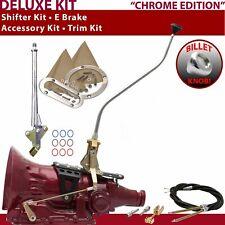 FMX Shifter Kit 23 Swan E Brake Cable Trim Kit For F5996 fits lokar auto trans