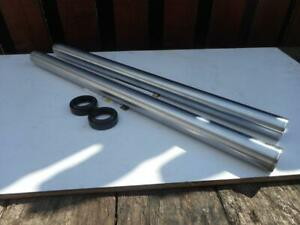 BSA A65 Fork Stanchion Tubes & Seals 97-4007 Oil in Frame Conical Hub UK Made
